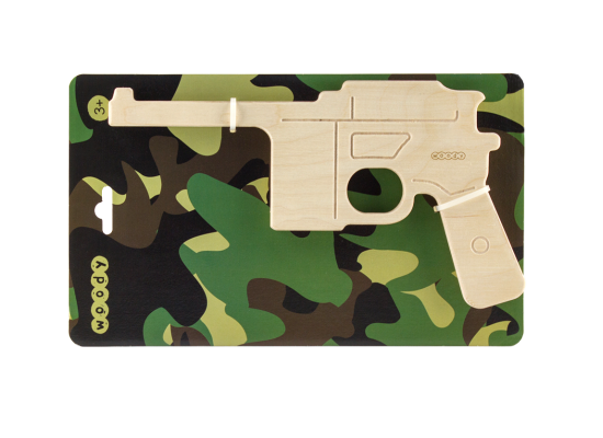 wooden pistol