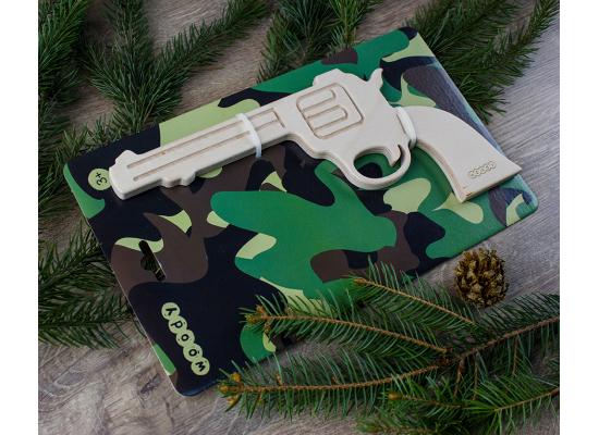 Деревянный пистолет ковбойский