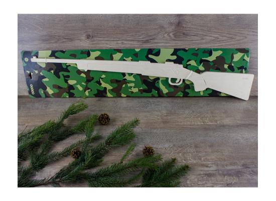Деревянная игрушка винтовка