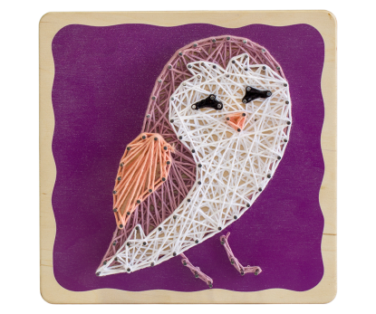"String-art kit ""Owl"""
