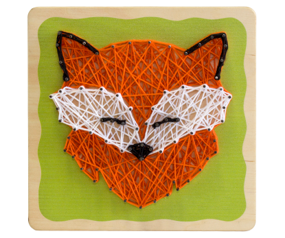"String-art kit ""Fox"""