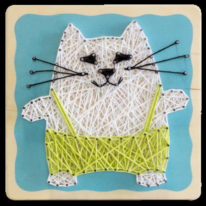 """String-art kit """"Cat"""""""