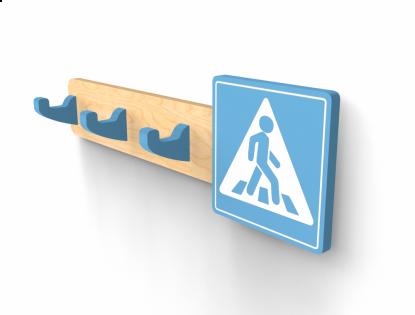 Вешалка «Знак Пешеход»
