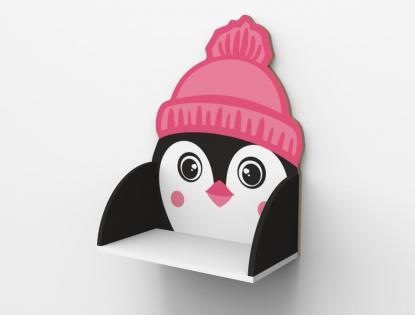 Полка навесная «Пингвин»